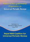 Report of Non Governmental Organization on Universal Periodic Review